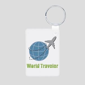 World Traveler Keychains