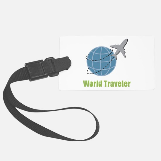 World Traveler Luggage Tag