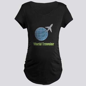 World Traveler Maternity T-Shirt