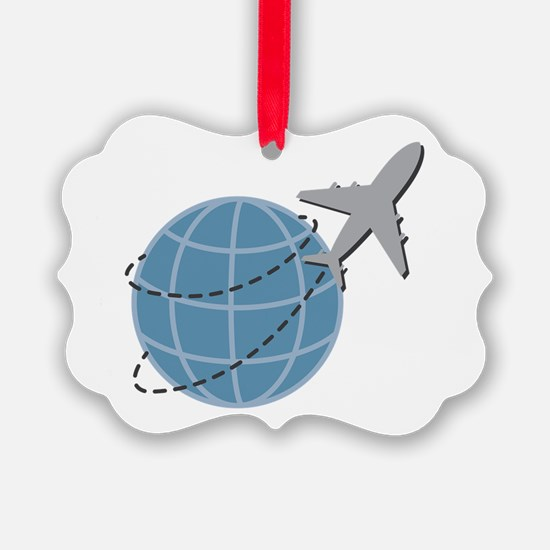 World Travel Ornament