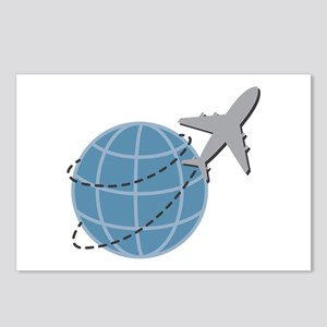 World Travel Postcards (Package of 8)