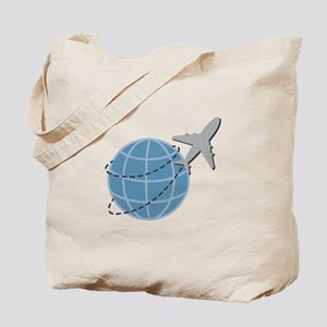 World Travel Tote Bag