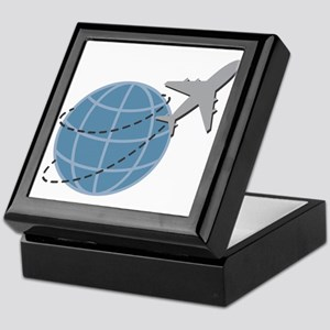 World Travel Keepsake Box