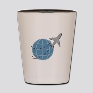 World Travel Shot Glass