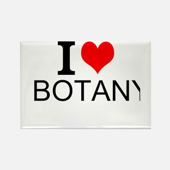 I Love Botany Magnets