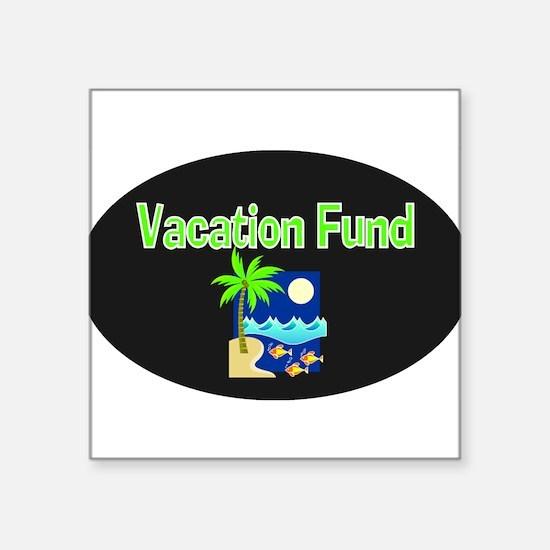 """Unique Vacation Square Sticker 3"""" x 3"""""""