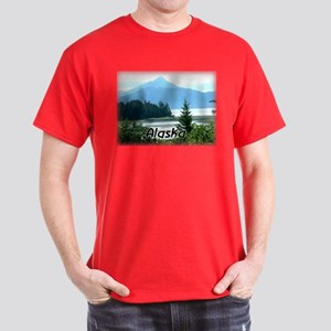 Alaska Scenic View Dark T-Shirt