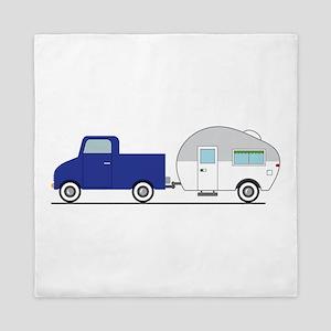 Truck & Camper Queen Duvet