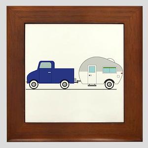 Truck & Camper Framed Tile
