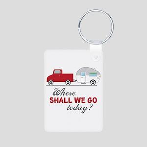 Where Shall We Go Keychains