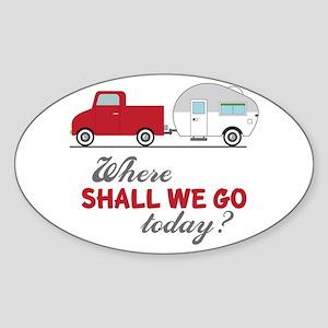 Where Shall We Go Sticker