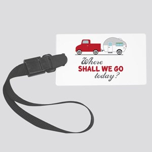 Where Shall We Go Luggage Tag