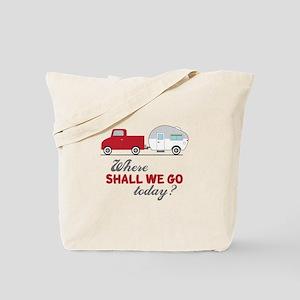 Where Shall We Go Tote Bag