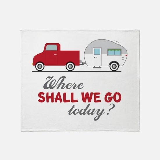 Where Shall We Go Throw Blanket