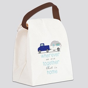 That Is Home Canvas Lunch Bag