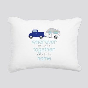 That Is Home Rectangular Canvas Pillow