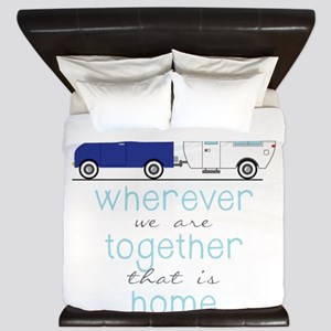 That Is Home King Duvet