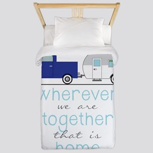 That Is Home Twin Duvet
