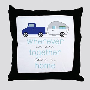 That Is Home Throw Pillow