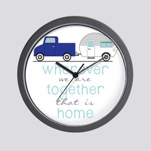 That Is Home Wall Clock