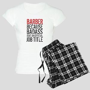 Badass Barber Women's Light Pajamas