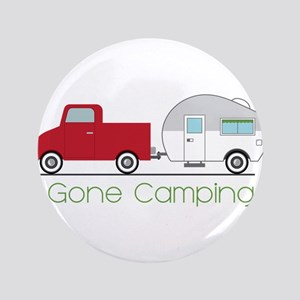 Gone Camping Button