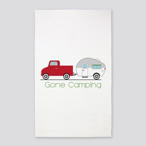 Gone Camping Area Rug