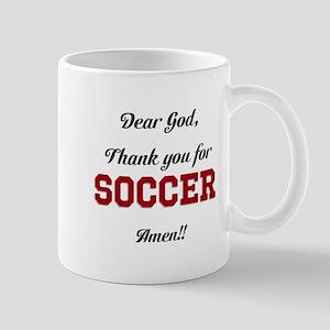 Thank God for Soccer Mugs