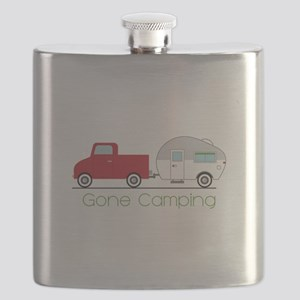Gone Camping Flask