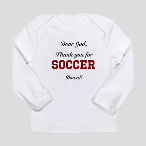 Thank God for Soccer Long Sleeve T-Shirt