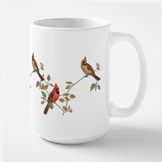cardinal couple Mugs