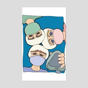 Surgery Get well gifts Rectangle Sticker