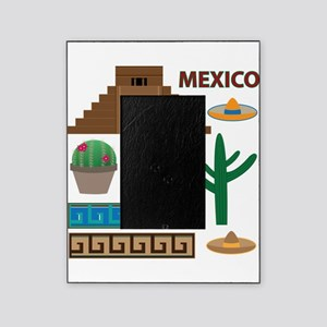 aztec pyramid Picture Frame