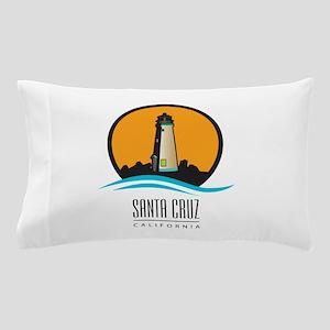 Santa Cruz California CA Light House Pillow Case