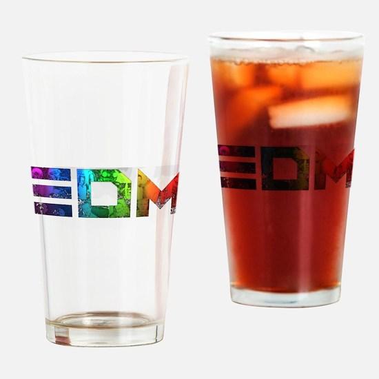 Cute Dance music Drinking Glass