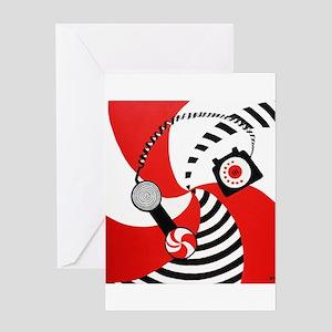 The White Stripes Jack White Original Greeting Car