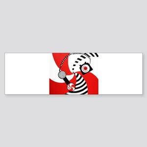The White Stripes Jack White Original Sticker (Bum