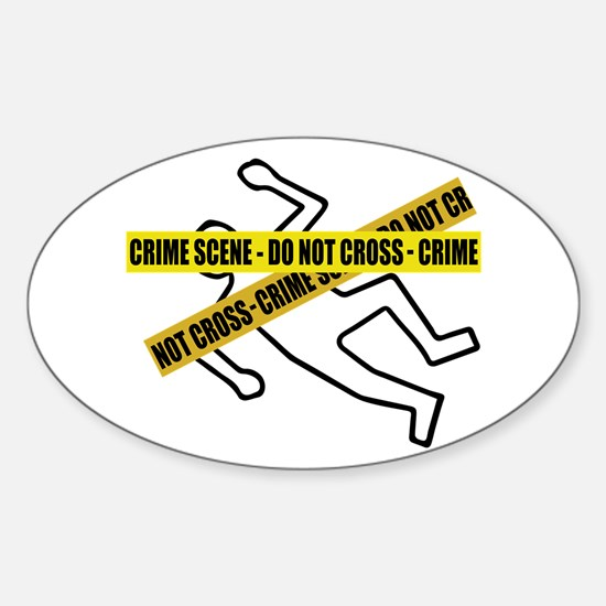 Crime Scene Tape Decal