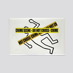 Crime Scene Tape Magnets