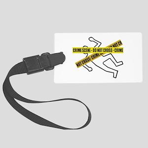 Crime Scene Tape Luggage Tag