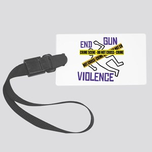 End Gun Violence Luggage Tag