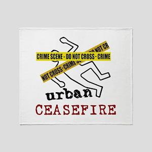 Urban Ceasefire Throw Blanket