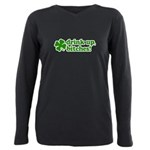 Drink Up, Bitches! Plus Size Long Sleeve Tee