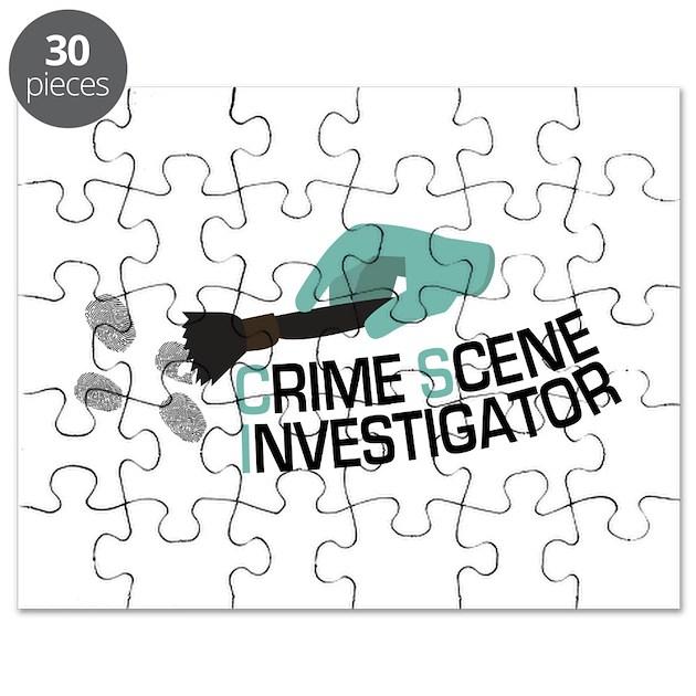 Crime Scene Investigator Puzzle by AnnTheGran10