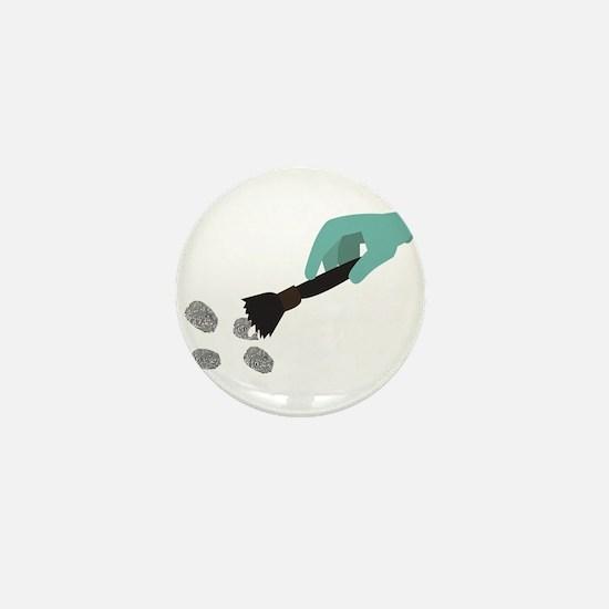 Fingerprint Brush Mini Button