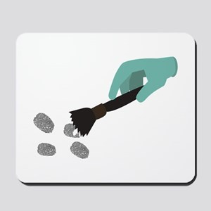 Fingerprint Brush Mousepad