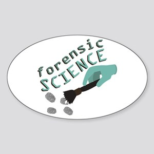 Forensic Science Sticker