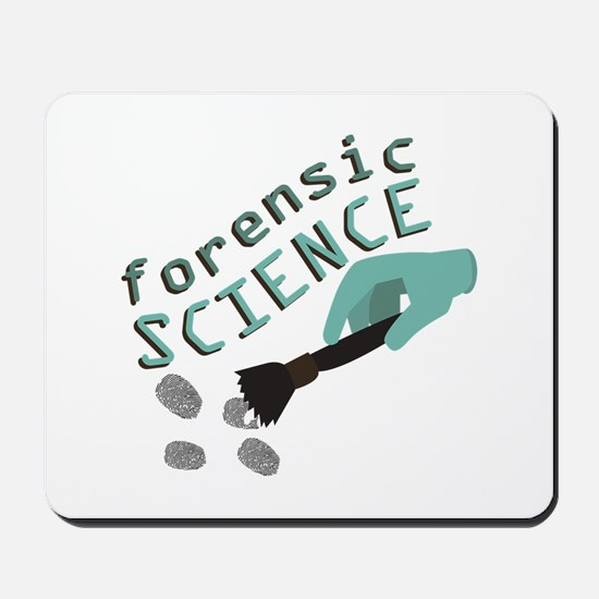 Forensic Science Mousepad