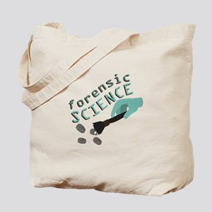 Forensic Science Tote Bag
