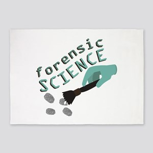 Forensic Science 5'x7'Area Rug